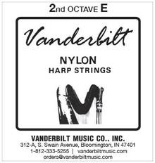 Vanderbilt Nylon, 2nd Octave E