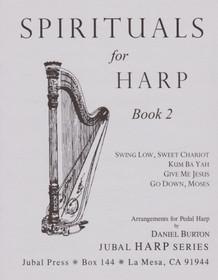 Burton: Spirituals for Harp Book 2