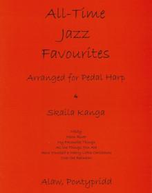 Kanga: All Time Jazz Favourites, arranged for pedal harp
