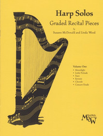 McDonald/Wood: Harp Solos Graded Recital Pieces Vol.1