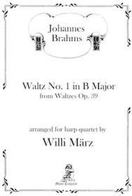 Waltz No. 1 in B Major, Johannes Brahms