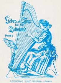 Bredl: Lieder und Tanze fur die Volksharfe (Tiroler Harfe) BOOK 2
