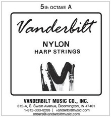 Vanderbilt Nylon, 5th Octave A