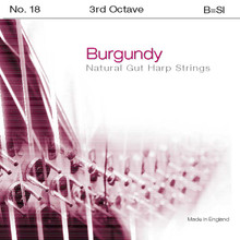 Burgundy 3rd Octave B