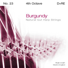 Burgundy 4th Octave D