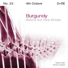 Burgundy 4th Octave D