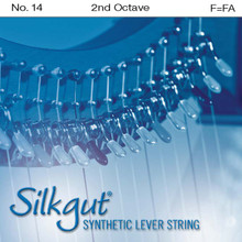 Silkgut Synthetic Lever String, 3rd Octave F