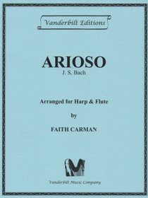 Bach/Carman: Arioso for Harp and Flute