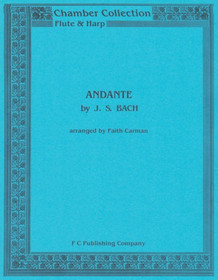 Bach/Carman: Andante for Flute and Harp
