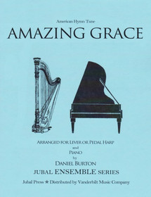Burton (arr.): Amazing Grace for Lever or Pedal Harp and Piano
