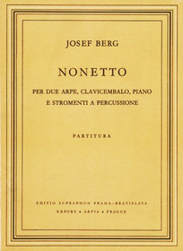 Berg: Nonetto for 2 Harps, Harpsichord, Piano and Percussion Instrument