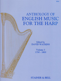 Watkins: Anthology of English Music for the Harp, Vol. 3 (1750-1800)