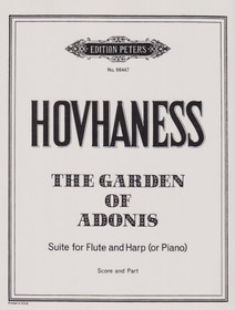 Hovhaness: Garden of Adonnis, Suite for Flute and Harp (or Piano)
