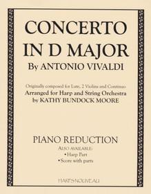 Vivaldi/Moore, Concerto in D Major (Piano Reduction)