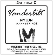 Vanderbilt Nylon, 2nd Octave C (Red)