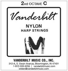 Vanderbilt Nylon, 2nd Octave C (Red)