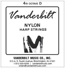 Vanderbilt Nylon, 4th Octave D