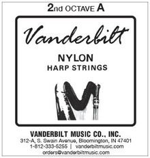 Vanderbilt Nylon, 2nd Octave A