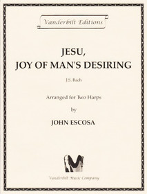 Bach/Escosa: Jesu, Joy of Man's Desiring (Two Harps)
