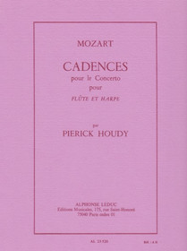 Houdy: Cadenzas for Mozart Flute and harp Concerto