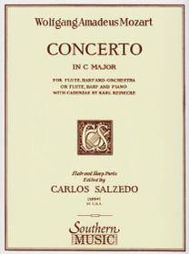 Mozart/Salzedo, Concerto (Harp/Flute/Piano Reduction)