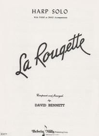 Bennett: La Rougette (Harp Solo with Piano or Band Accompaniment)