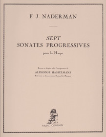 Naderman/Hasselmans: Sept Sonates Progressives