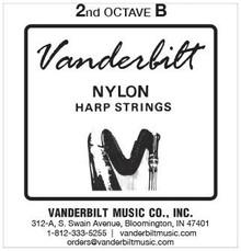 Vanderbilt Nylon, 2nd Octave B