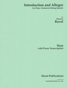 Ravel, Introduction and Allegro (Harp and Piano Reduction)