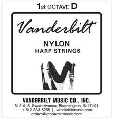 Vanderbilt Nylon, 1st Octave D