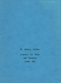 Schafer, Concerto (Harp/Piano Reduction)