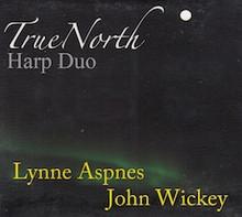 Aspnes/Wickey: True North - Harp Duo (CD)