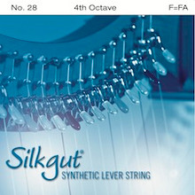 Silkgut Synthetic Lever String, 4th Octave F