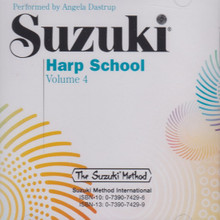 Suzuki Harp School, Volume 4 (CD)
