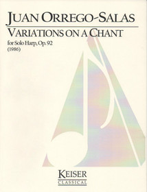 Orrego-Salas: Variations on a Chant, Op. 92