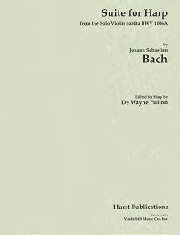Bach/Fulton: Suite for Harp