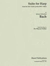 Bach/Fulton: Bach Suite for Harp from the Solo Violin Partita