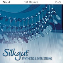 Silkgut Synthetic Lever String, 1st Octave B