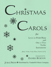 Burton: Christmas Carols for Lever or Pedal Harp and One or Two Treble Instruments