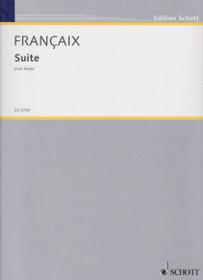 Francaix: Suite pour Harpe