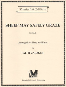 Bach/Carman: Sheep May Safely Graze for Harp and Flute