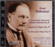 Erno Dohnanyi: Bridge (Featuring the American Symphony Orchestra and Sara Cutler on Harp)