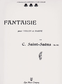 Saint-Saens: Fantaisie for Violin and Harp Op. 124