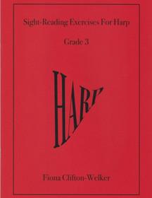 Welker: Sight-Reading Exercises For Harp, Bk. 3