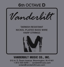 Vanderbilt Tarnish-Resistant 6th octave D