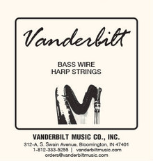Standard Wire 12-String Set with colored C & F