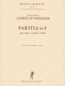 Albrecthsberger: Partita in F (set of parts)