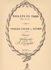 Dussek: Sonate En Trio Opus 34 No.1 (vln/vc/hp)