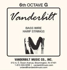 Vanderbilt Standard Bass Wire 6th octave G