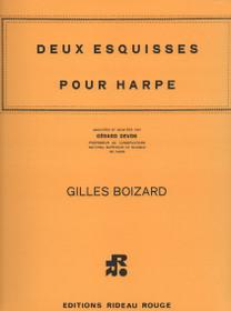 Boizard: Deux Esquisses Pour Harpe